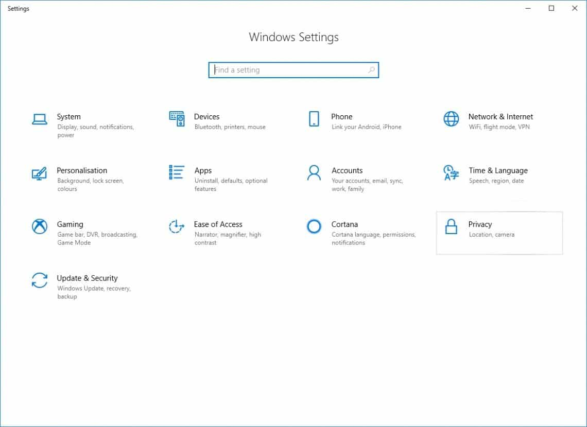 How To Turn On Or Turn Off Windows 10 Timeline Feature