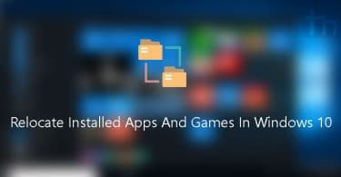 FolderMove Lets You Relocate Installed Apps And Games In Windows 10