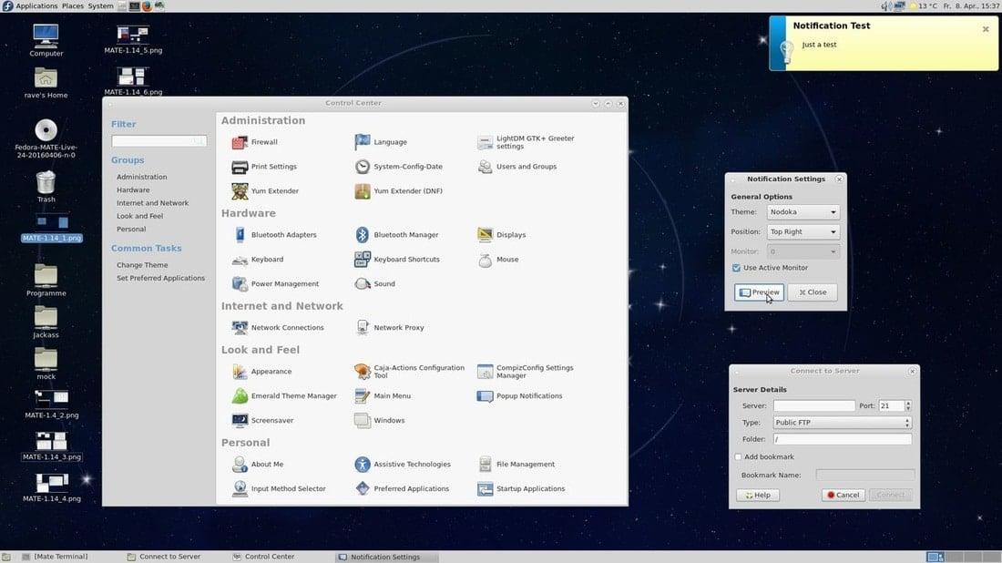 mate desktop environment linux