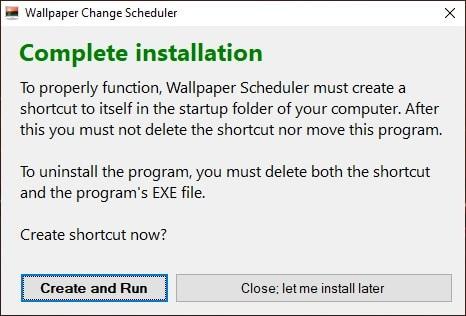install wallpaper change scheduler
