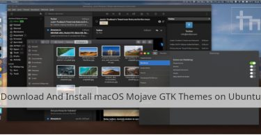 Download And Install macOS Mojave GTK Themes on Ubuntu