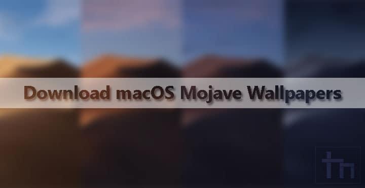 Download macOS Mojave Wallpapers | Technastic