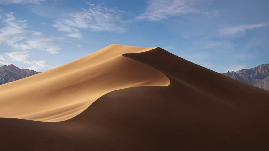 MacOS Mojave day wallpaper