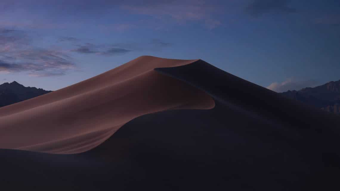 MacOS Mojave dusk wallpaper