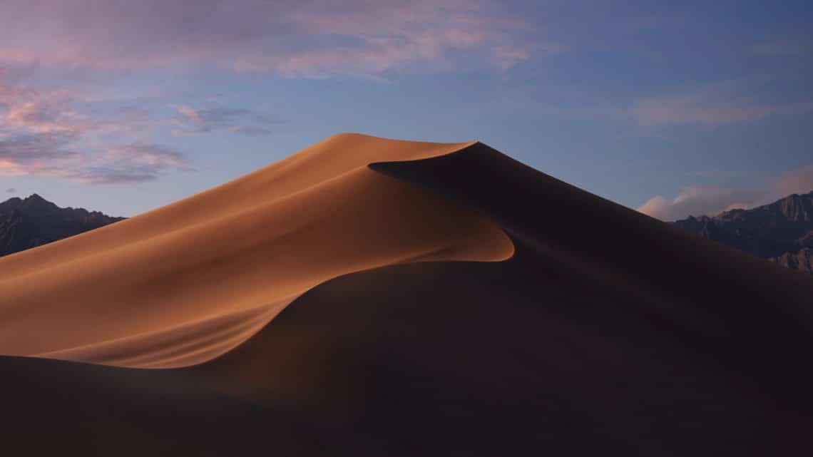 MacOS Mojave evening wallpaper