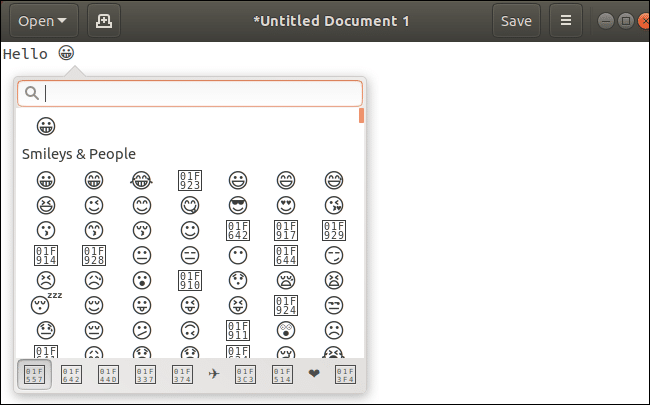 How To Use and Uninstall Emoji on Ubuntu 18.04