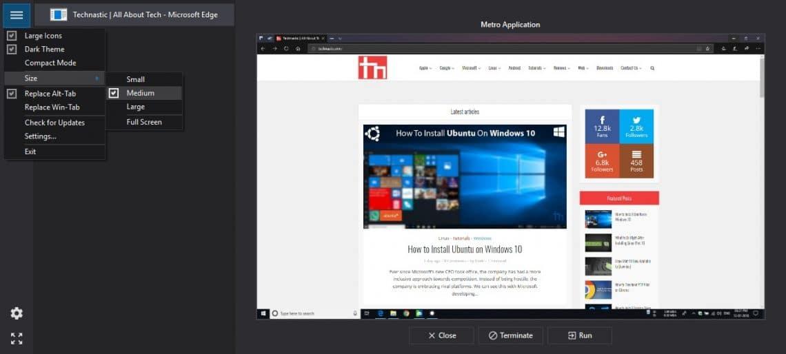 Alt-Tab Terminator Windows 10