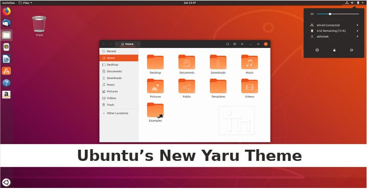 Try Ubuntu's New Yaru Theme Right Now