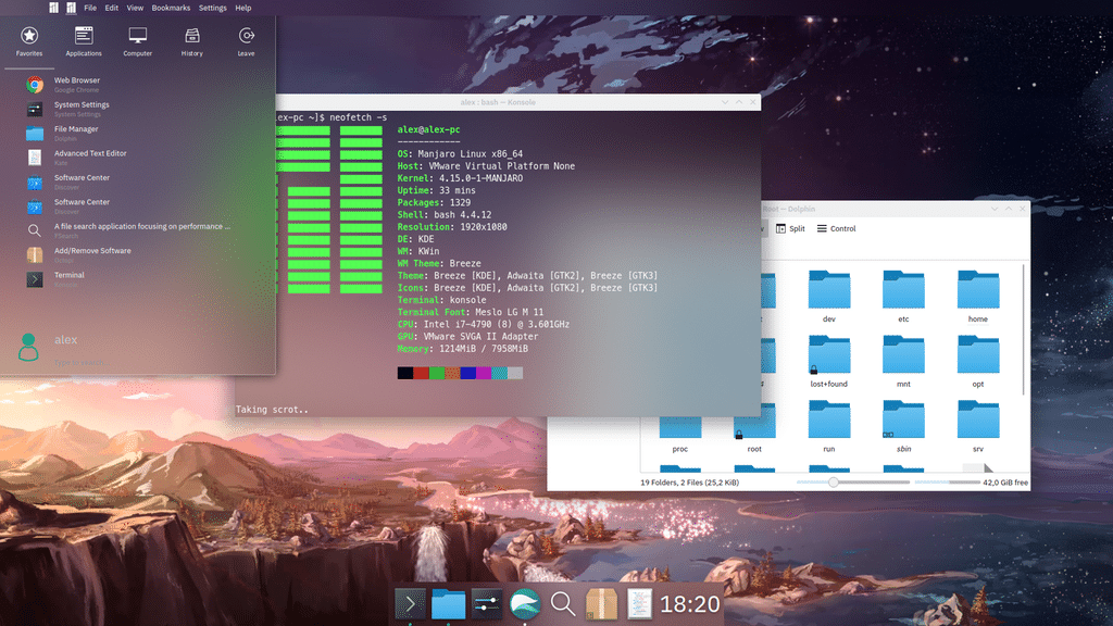 The Best Linux Desktop Environment