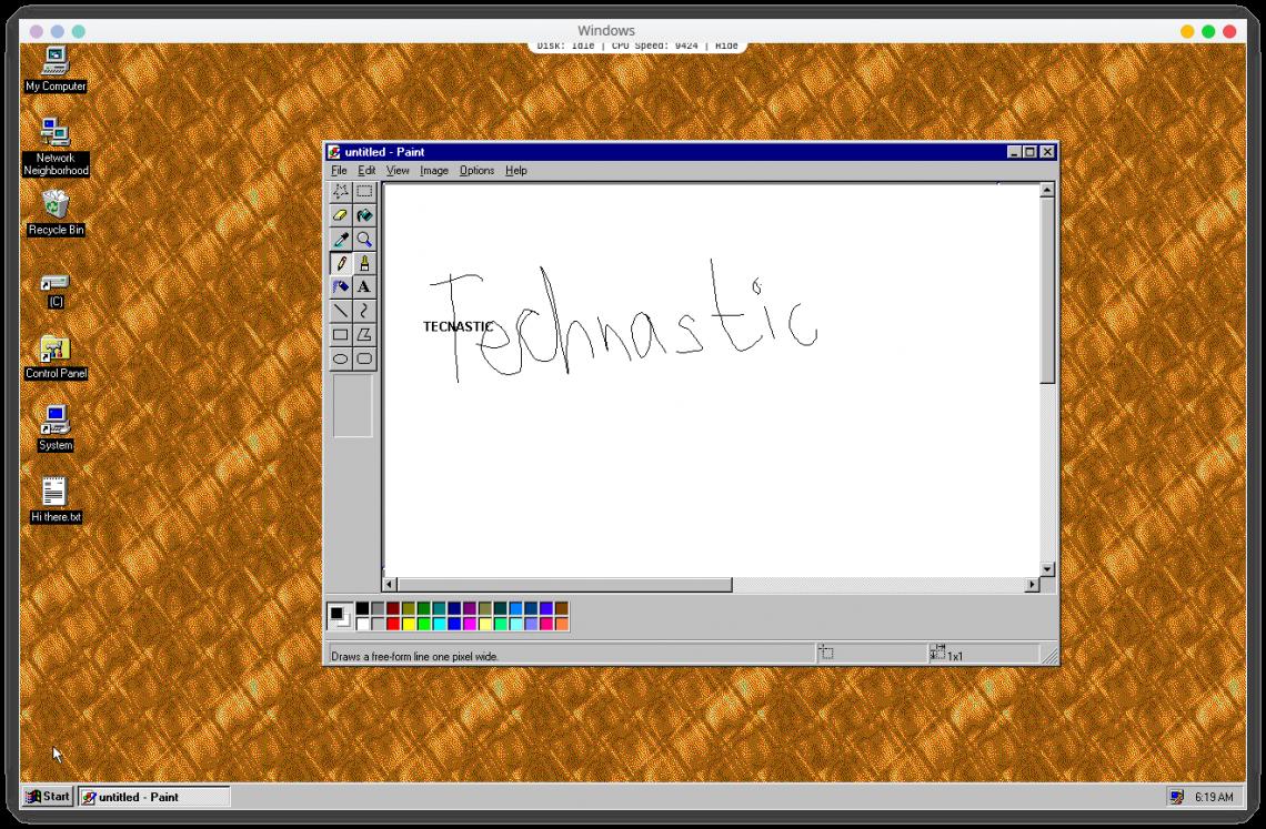 You can now run Windows 95 on your desktop as an Electron app