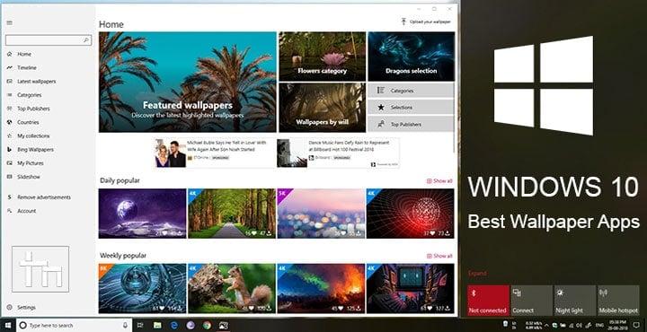 5 Best Wallpaper Apps for Windows 10 | Technastic