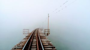 Xubuntu 18.04 railway line wallpaper