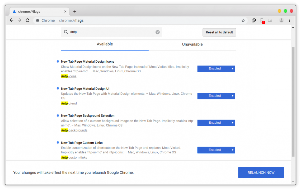 How to Customize the New Tab Page on Google Chrome | Technastic