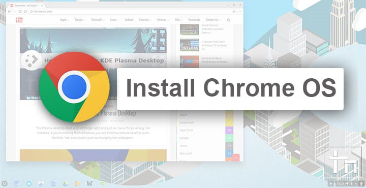 Install Chrome OS on Your Old Computer