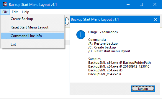 Backup & Restore Windows 10 Start Menu Layout