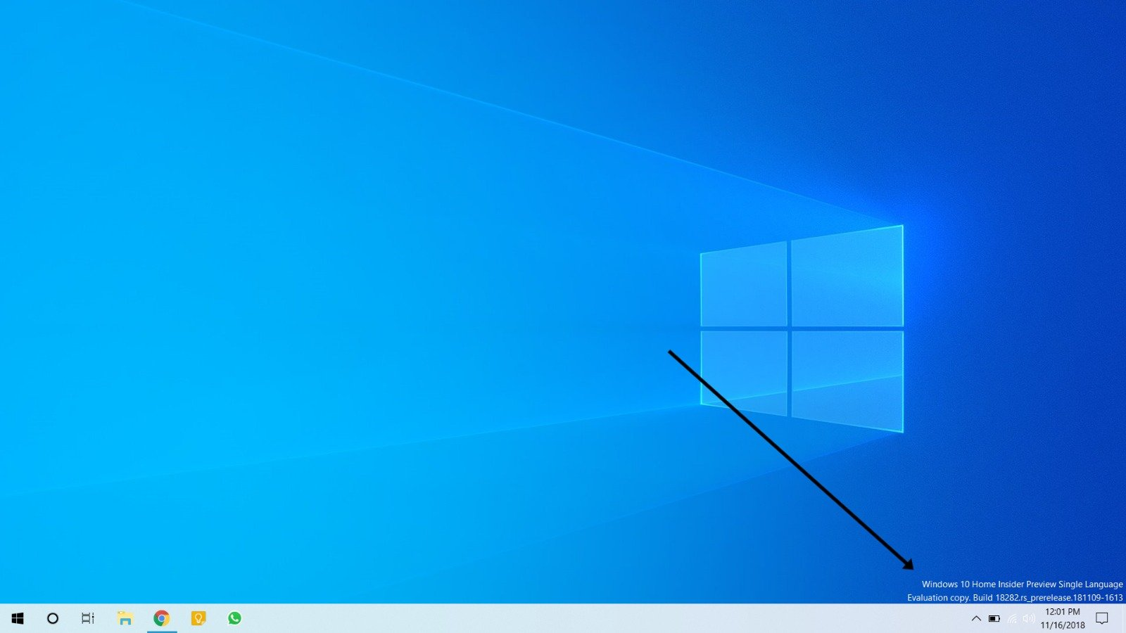 Check if you are on Windows 10 Insider Preview