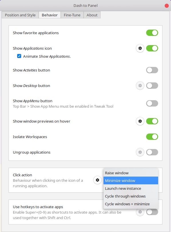 Get Windows Like Taskbar on Ubuntu GNOME