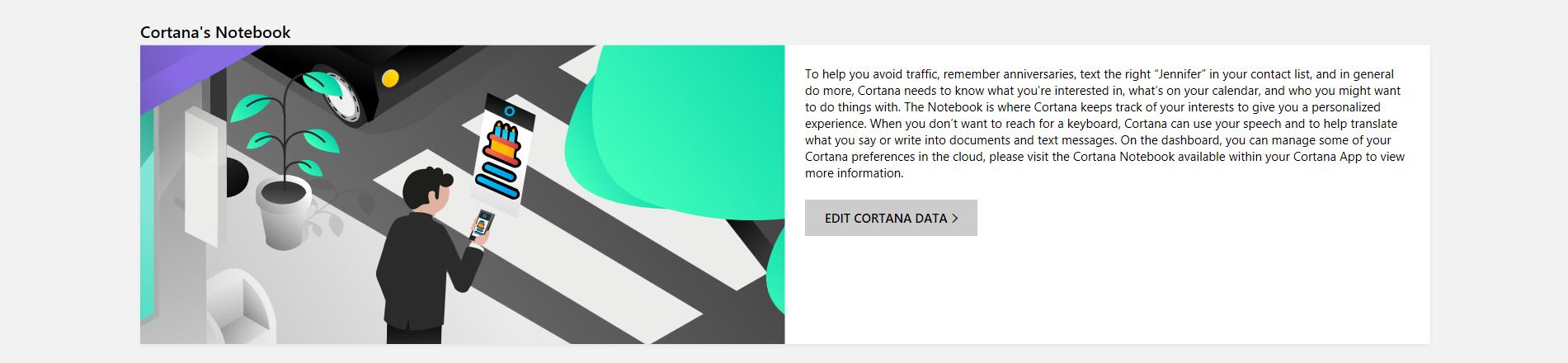 Microsoft Edge Clear History Cortana Data