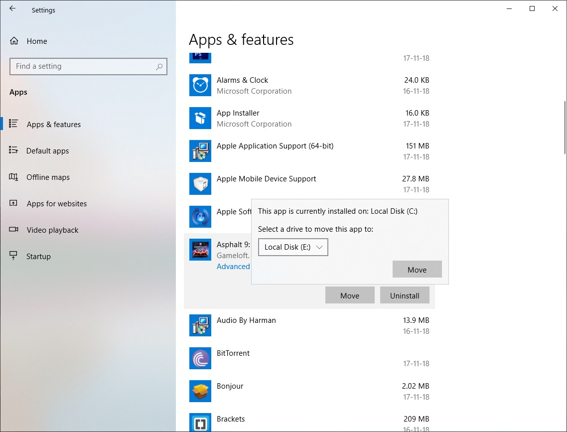 How To Change Default Install Location Of Microsoft Store Apps On Windows 10