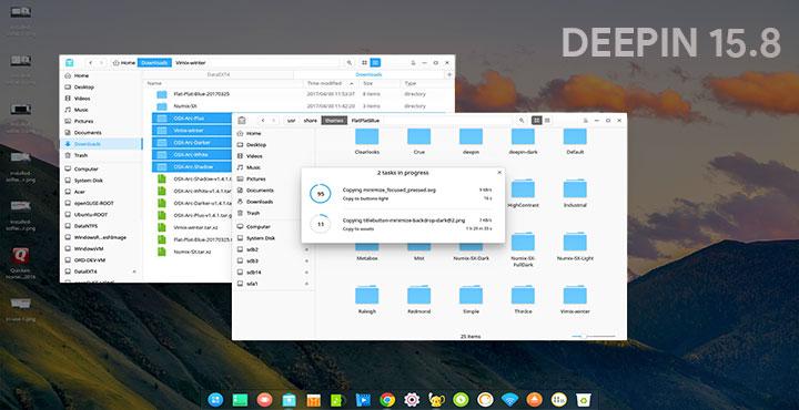 Linux Deepin 15 8 Improves on an Already Gorgeous Desktop