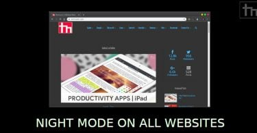 How To Enable Night Mode for all Websites