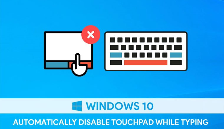 disable touchpad on windows