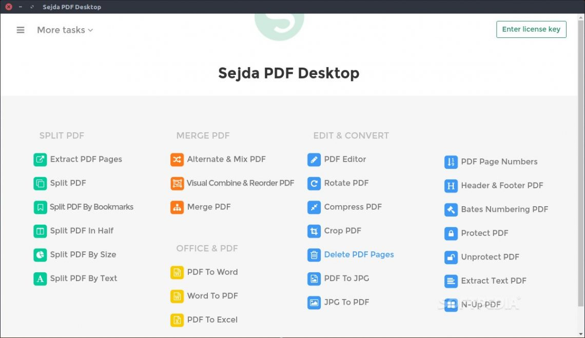 Sejda PDF Editor for Linux