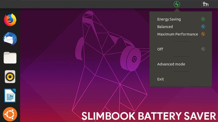 slimbook battery saver