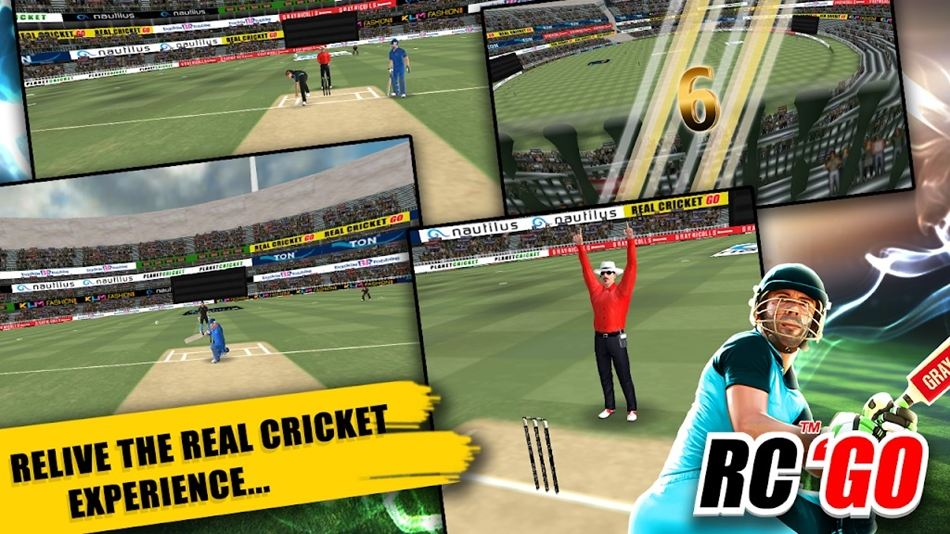 Real Cricket Go Android game