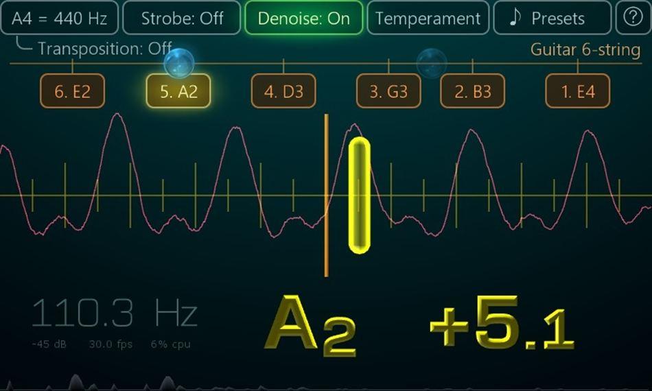 Airyware Tuner Guitar tuner apps
