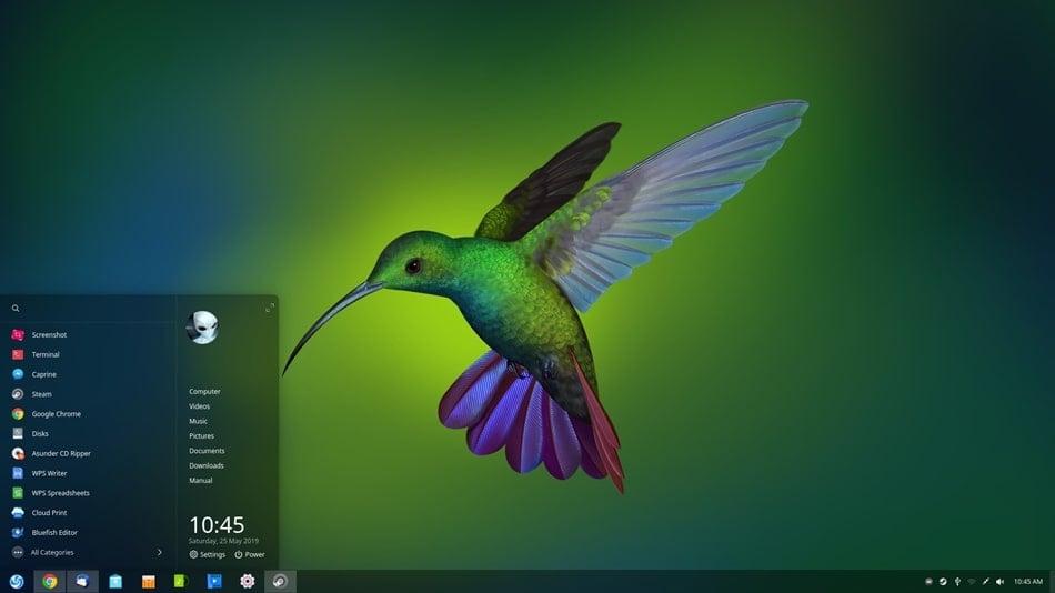 Deepin Linux distro