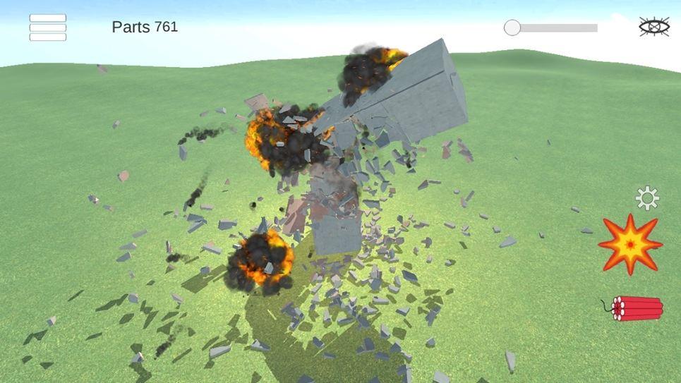 Destruction physics gameplay