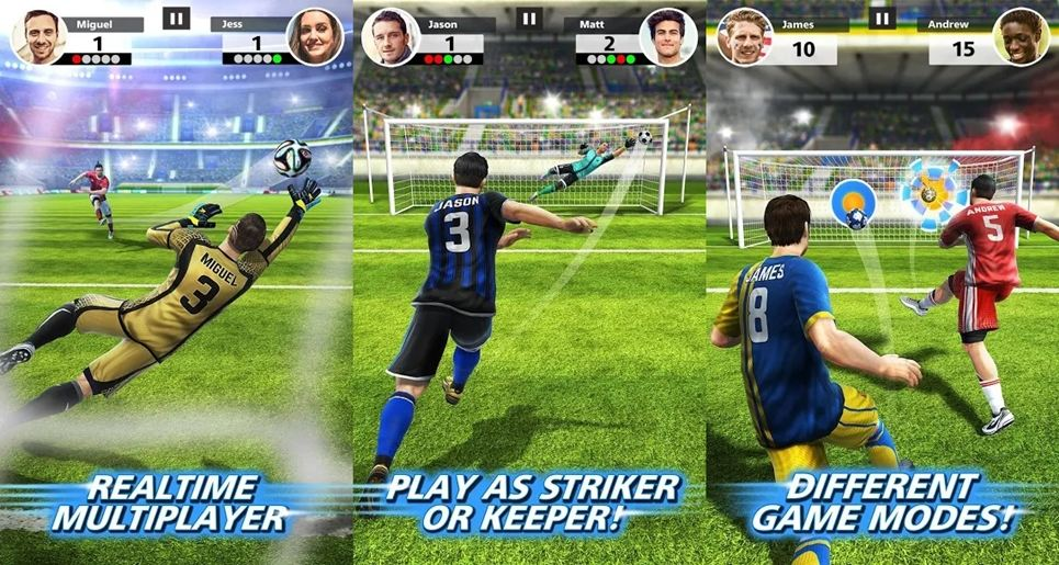 Football Strike game features