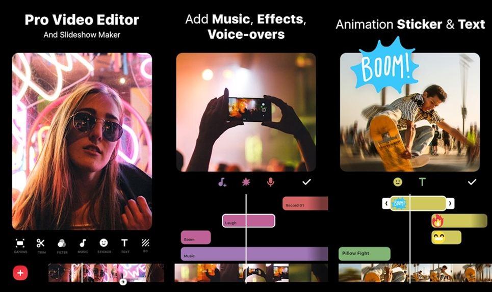 InShot features