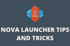 Nova Launcher tips cover