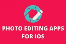 photo editing apps for iOS cover