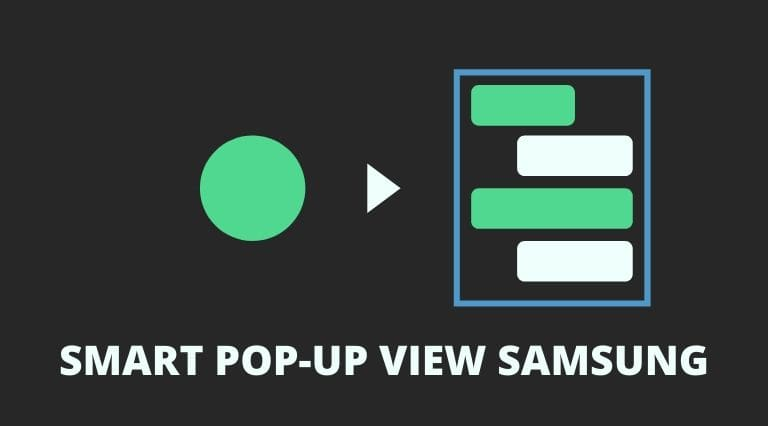 Smart pop-up view cover