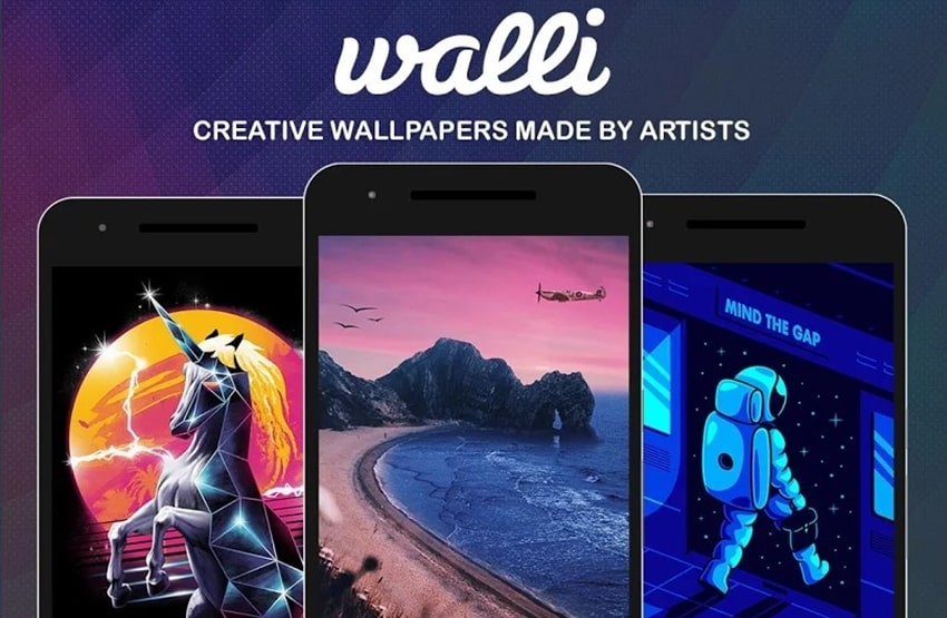 Walli wallpaper apps