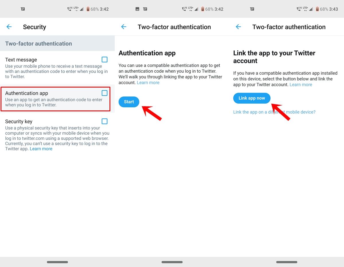 auth Google Authenticator app