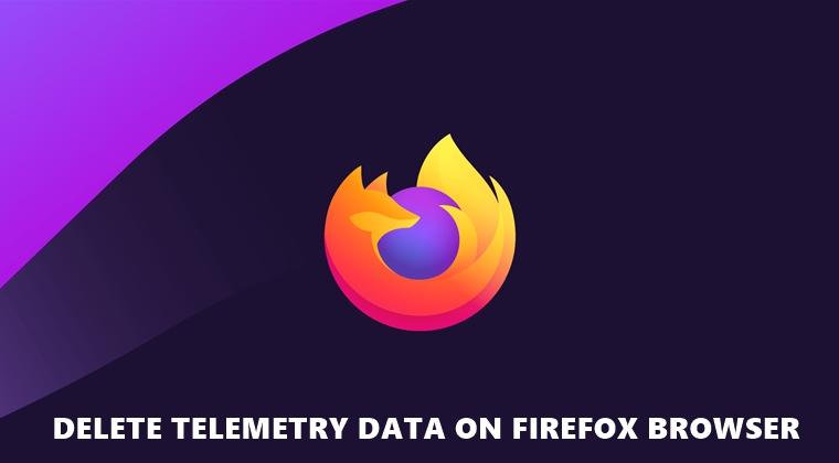 delete data firefox
