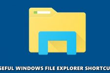 file explorer shortcuts