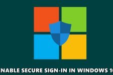secure sign-in windows