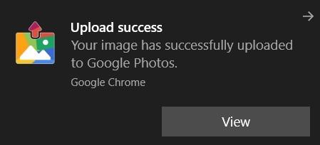 upload success