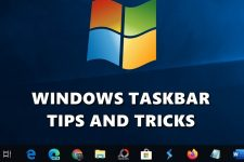 windows taskbar tips
