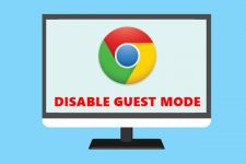 disable chrome guest mode