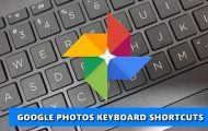 photos keyboard shortcut
