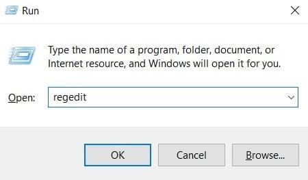 run dialog windows 10