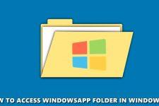 windowsapp windows 10