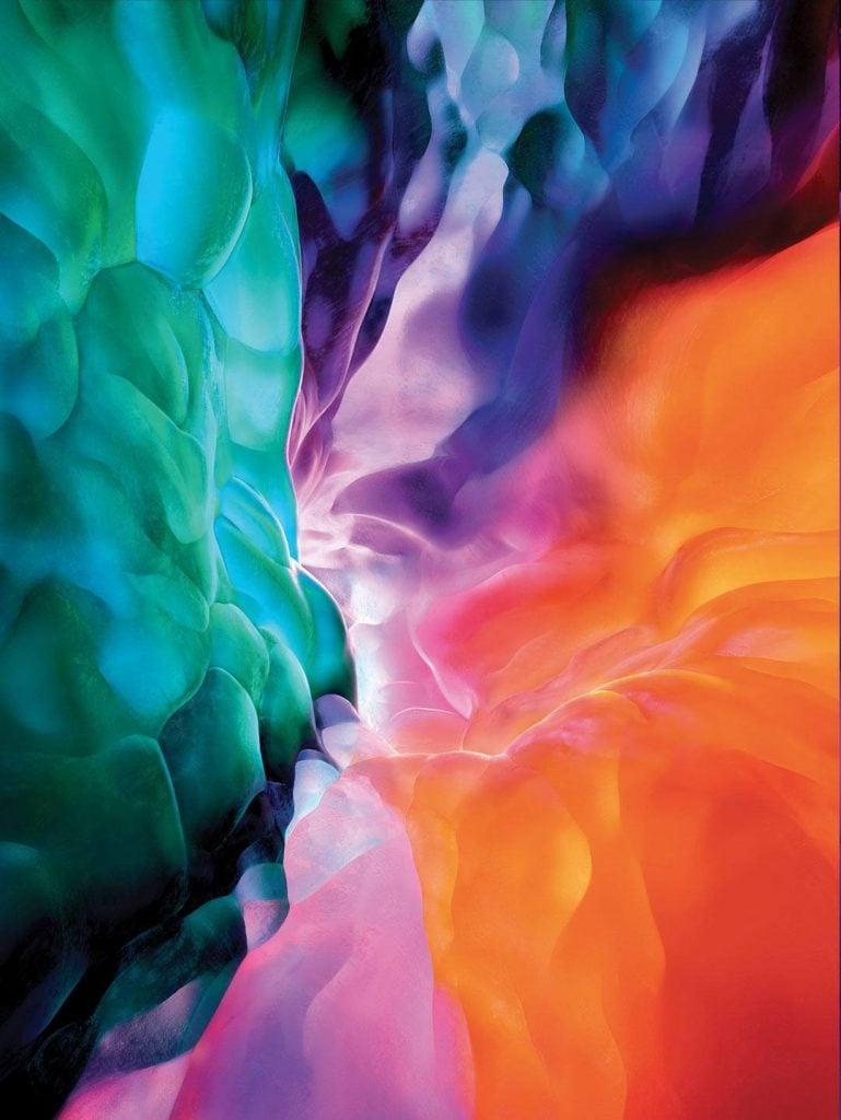 Official iPad Pro 2020 Wallpapers - Download   Technastic