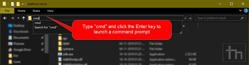 launch command window